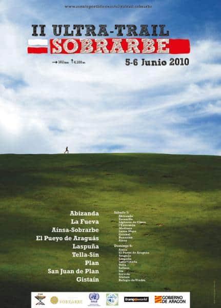 II ULTRA TRAIL SOBRARBE. 5/6 JUNIO. CARTEL ANUNCIADOR Y RUEDA DE PRENSA