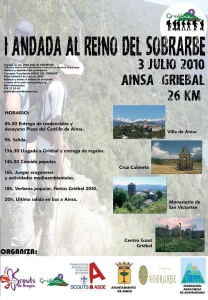 SÁBADO 3 DE JULIO. I ANDADA REINO DE SOBRARBE