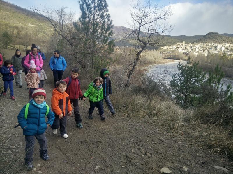 El Chiquicas realizó la primera salida del año. Vuelta Circular a la Madalena desde Boltaña. Sábado 14 de Enero