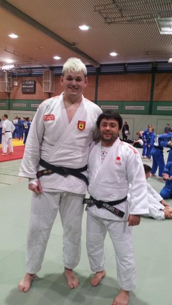 Irinel Chelaru, convocado por la selección española de Judo, continúa con su progresión y trabajo. Dusseldorf (Alemania)