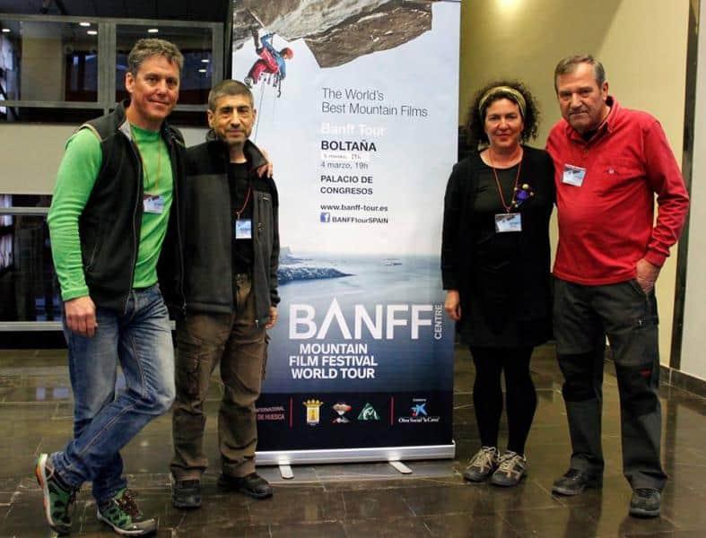 Celebrada en Boltaña la Muestra de Cine de Montaña y Aventura del Festival Banff de Canadá. Viernes y Sábado 3 y 4 de Marzo