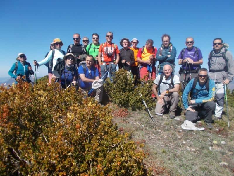 En esta ocasión sí pudimos ascender al Mallo Brocoló (se había suspendido en Marzo). Sábado 22 de Abril.