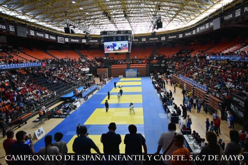 La Escuela de Judo del CAS estuvo compitiendo en el Cº de España Escolar. Valencia, 5, 6 y 7 de Mayo