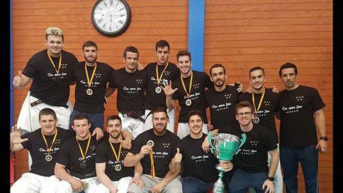 Irinel Chelaru, Campeón de la Liga Nacional con el club Judo Valencia. 13 de Mayo en Madrid