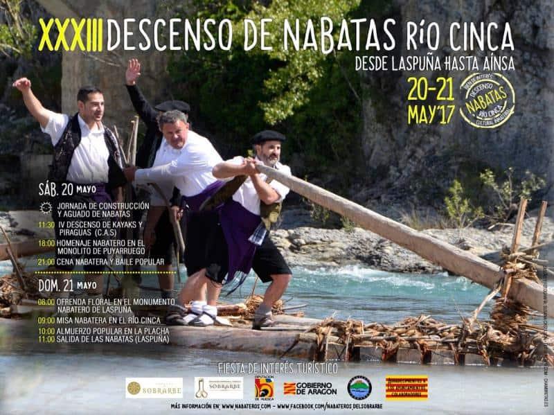 V Descenso Popular del tramo del Cinca Nabatero. Próximo sábado 20 de Mayo.
