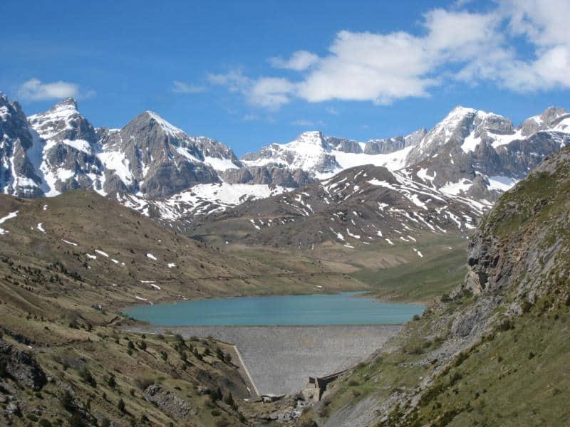 Amplia panorámica circular del valle. Collado del Pazino.