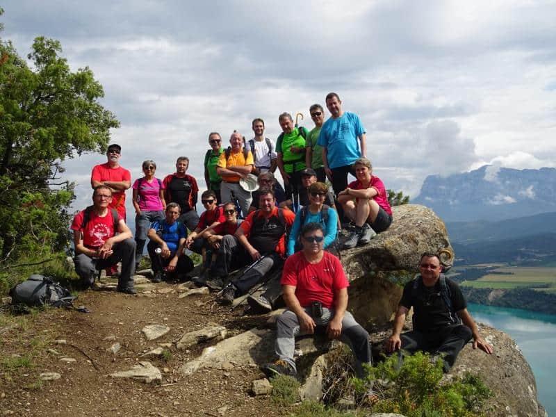 Celebrado el IV Encuentro de clubes de Montaña provincia de Huesca. Aínsa y Boltaña. Sábado 3 de junio.