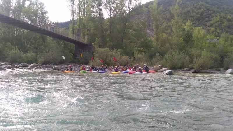 Finalizado, con muy buena participación, el curso de Kayak.
