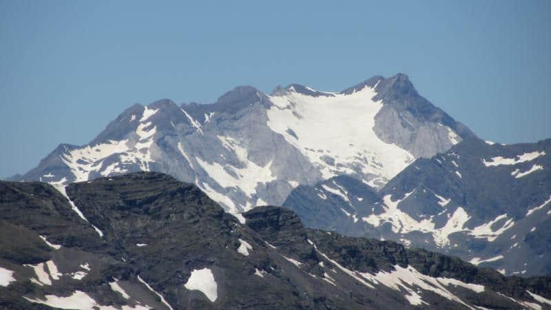 Vista desde uno de los picos de la ascensión