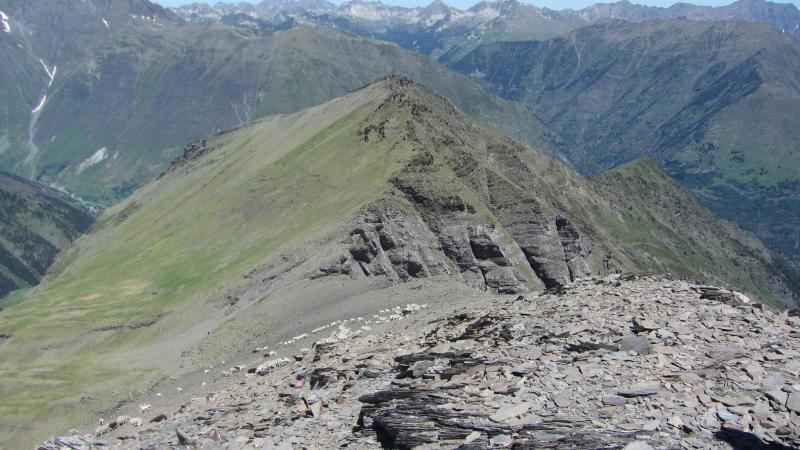Vista de la cima del Pic Cuneille