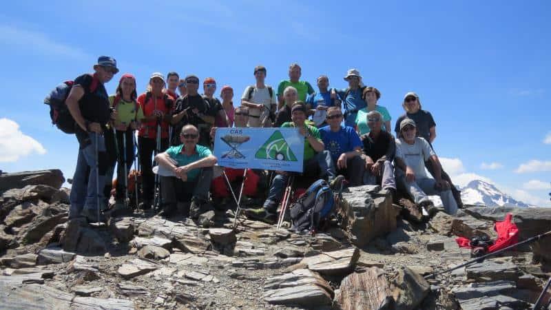 Ascendimos al pico Salvaguardia y Puerto de Benasque. Sábado 10 de junio