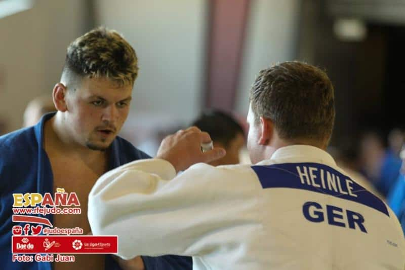 Nuevas noticias de Irinel. Concentración en Castelldefels, con los mejores judocas de todo el mundo.