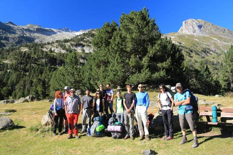 """Este verano hemos """"vivaqueado"""" por el valle de Benasque con ascensión al pico Mulleres. 12 y 13 de Agosto"""