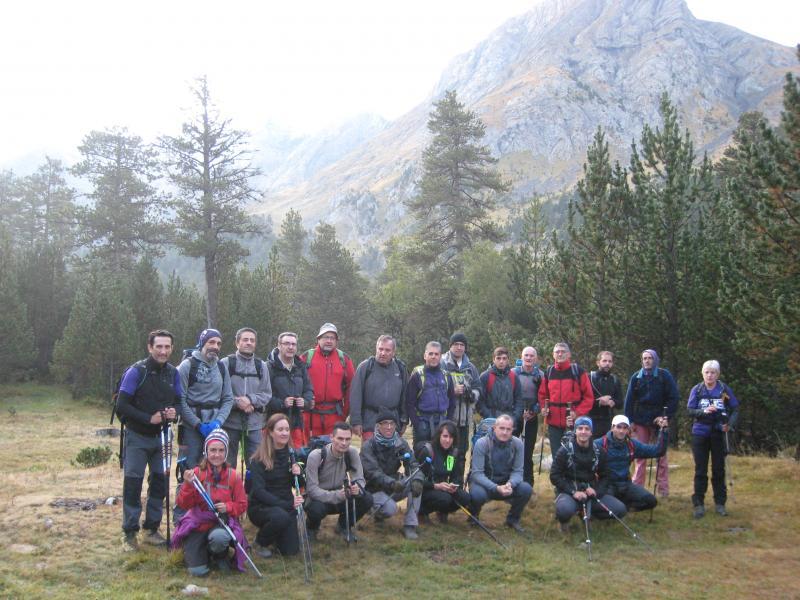 Realizada la ascensión al pico Tempestades (3.248 metros) en el macizo de las Maladetas. Sábado 23 de Septiembre