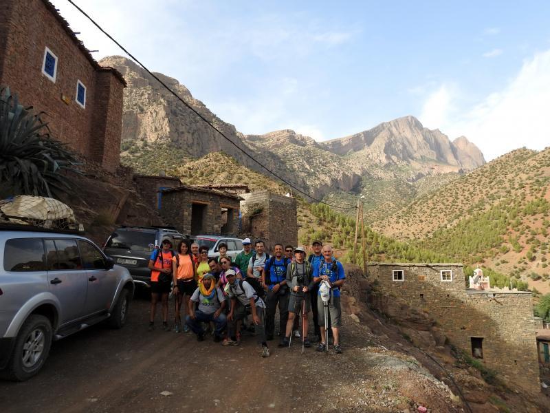 Ha regresado de Marruecos, muy satisfecha, la expedición CAS-NABAÍN por el Atlas (valle del río Tessaoute).