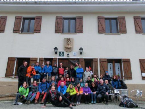 Hemos vuelto muy satisfechos, a pesar de la niebla reinante, de nuestra expedición a Roncesvalles y Sorogain. 27 al 29 octubre.