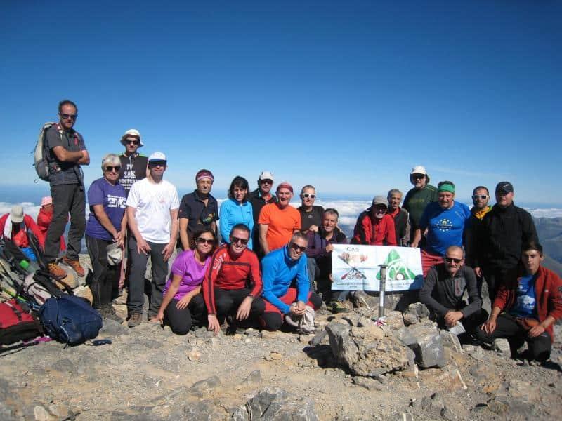 Hemos ascendido al pic d´Anie (2504 metros) en Francia. Sábado 7 de Octubre