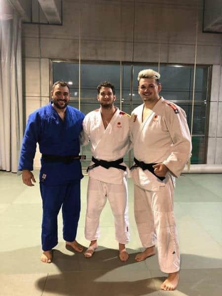 Irinel, entrenando a tope y dispuesto para competir en el Campeonato Europeo Sub 23 de Judo del 12 de Noviembre.