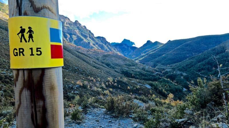 Excursión desde Añisclo a Fanlo por el GR 15