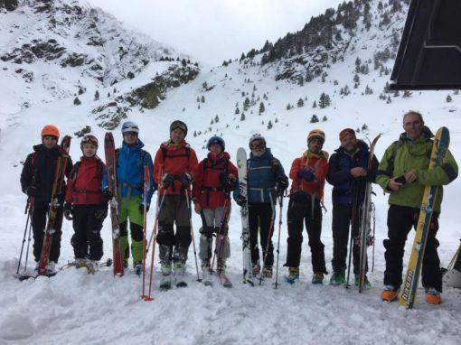 Realizada una nueva salida promocional de Esquí de Travesía hasta la Forqueta. Sábado 27 de Enero