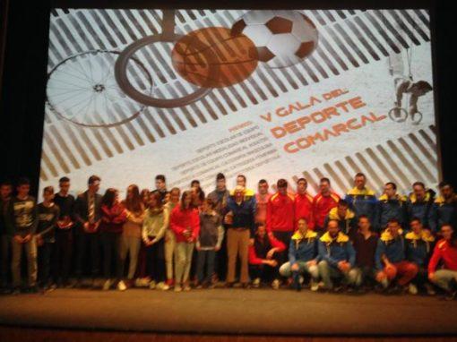 Celebrada la V Gala del Deporte Comarcal. Viernes 2 de Febrero