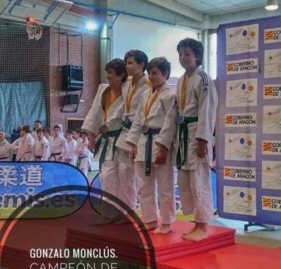 Muy buenos resultados logrados por la Escuela de Judo del CAS en Monzalbarba. Domingo 18 de Febrero