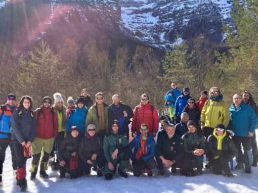 Celebrada una nueva Jornada de Seguridad en Montaña Invernal. Sábado 17 de Febrero