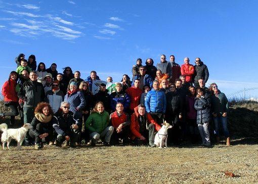 Muy buena participación en la Circular de Mediano, Samitier, Ermitas y Castillo, Ligüerre, Entremón y Mediano. Sábado 10 Febrero