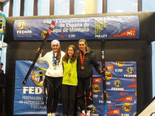 Claudia Valero de nuevo Campeona de España. Sábado 3 de Febrero en Candanchú.
