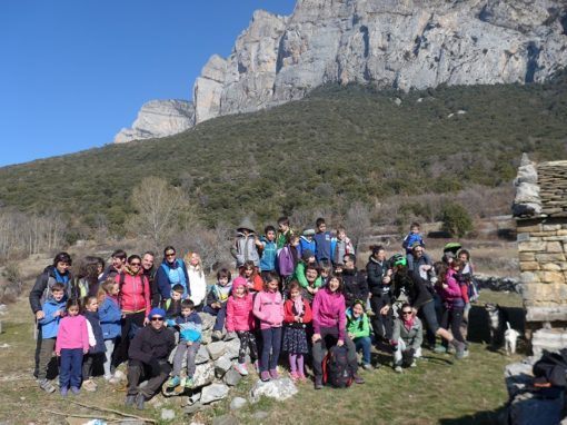 Nuestro Chiquicas realizó su salida invernal por Bajopeñas entre Torrelisa y Oncíns. Sábado 24 de Febrero