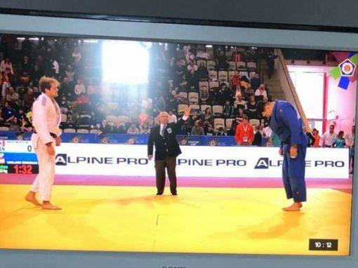 Irinel mejorando en el ranking mundial de judo hasta el nº 149.