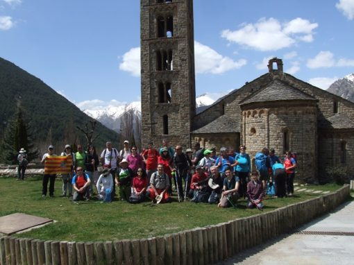 Por fin pudimos realizar la vuelta circular por el valle de Boí y sus iglesias románicas. Sábado 21 de Abril