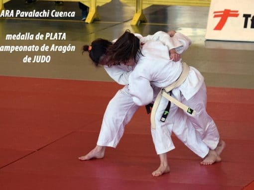 La Escuela de Judo del CAS en el Campeonato de Aragón. Domingo 15 de Abril en Zaragoza