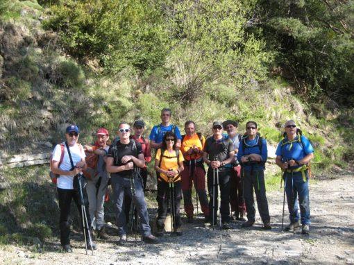 El pasado sábado 19 de mayo, continuando con nuestra programación anual, ascendimos al pico Bachesango (2.256 metros).