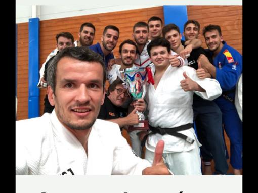 Irinel Chelaru, Campeón con su equipo de la 1ª División de Judo de España.