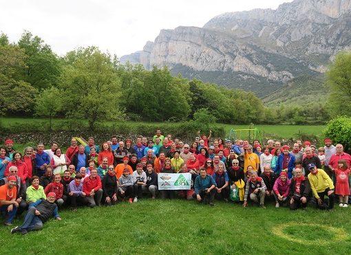 Muy buena participación y mejor ambiente en nuestra fiesta montañera de la Peña Montañesa. Sábado 12 de Mayo