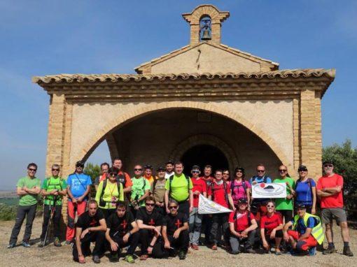 Hemos participado en el 5º Encuentro de Clubes de Montaña de la provincia de Huesca. Sábado 2 de junio en Binefar