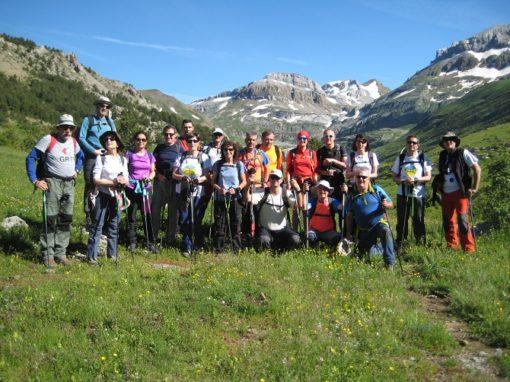 Recorriendo los picos de la Madalena, desde el valle de Aísa. Sábado 16 de Junio