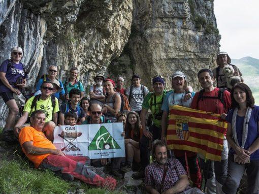 Después de algún intento fallido, realizamos la caminata de la Faja Pardina (Ordesa), desde Fanlo. Sábado 23 de Junio.