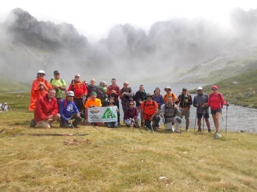 Hemos visitado de nuevo el ibón de Acherito (valle de Oza) (26 julio 2014 vez anterior). Sábado 28 de Julio