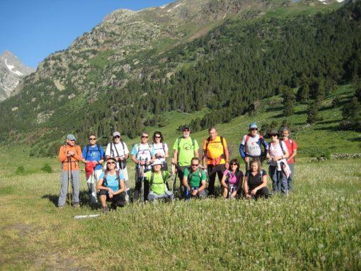 Ascendimos al Pico o Tuca Paderna (2.622 metros), pasando por el Ibón de Paderna o de la Renclusa. Sábado 30 de Junio