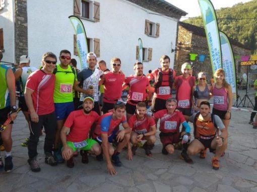 Grandísima participación de corredores del CAS en las carreras del Último Bucardo en Linás de Broto. Domingo día 19