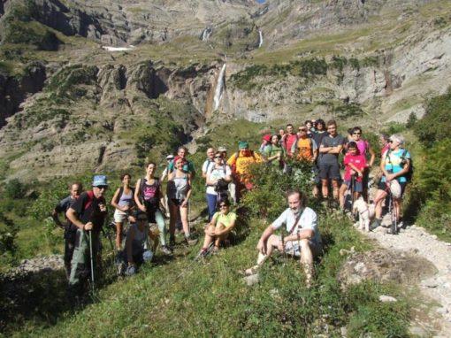 Recorrida ¡por fin! la Faja de Tormosa en el valle de Pineta. Sábado 1 de Septiembre.