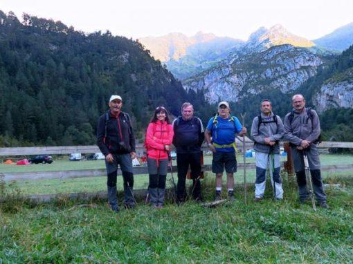 Realizada la vuelta circular valles de Otal y Ordiso, desde Bujaruelo, y también la ascensión al pico Otal. Sábado 8 de septiembre