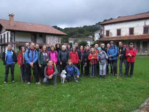 Fenomenal salida montañera, la del pasado finde por el valle de Baztán (Navarra). 26, 27 y 28 de Octubre.