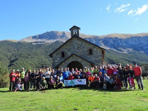 Realizada la salida conjunta del CAS, CER de Graus y Club Nabaín. Travesía Barbaruens (Ribagorza) a Plan (Sobrarbe). Domingo 7 Octubre