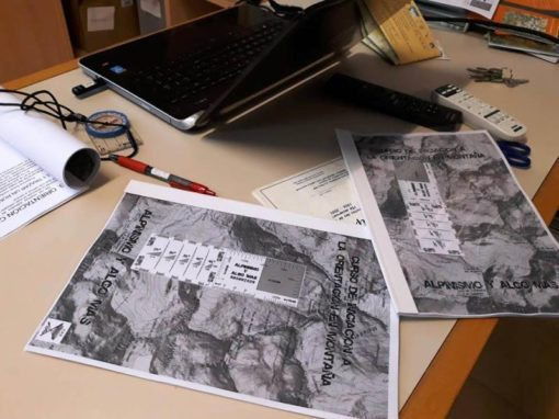 Realizado el curso de Orientación y Cartografía. Viernes y sábado, 23 y 24 de Noviembre.