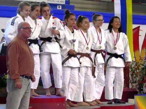Lara Pavalachi, 5º puesto en la copa de España de Judo. Sábado 15 de Diciembre en Granadilla (Tenerife)
