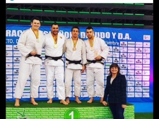 Irinel, Medalla de Plata y Subcampeón de España en Cáceres. Sábado 22 de Diciembre.