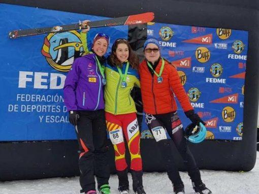 El CAS en la Copa de España de Esquí de Montaña. Baqueira Beret 19 y 20 de Enero